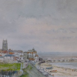 Cromer from the Cliffs (2)