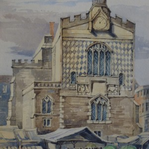 X (SOLD) Guildhall, Norwich 1871