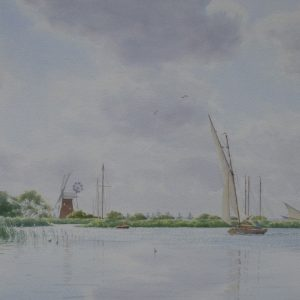 X (SOLD) Sailing on the Broads