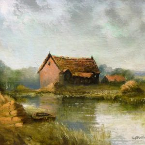 X (SOLD) Reed Cutter's Hut, Stalham Staithe