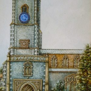 X (SOLD) St George's Church, Tombeland, Norwich