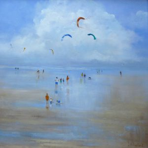 X(SOLD) Kites, Brancaster Beach, Norfolk
