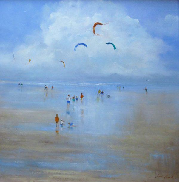 X(SOLD) Kites, Brancaster Beach, Norfolk