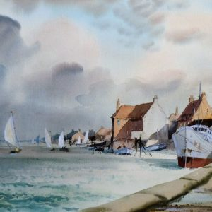 Wells Harbour, Norfolk (Sunshine and Shadow)