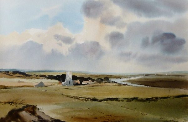 Morston and Creek from Sandpit