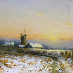 A  Broadland Winter Landscape 1982