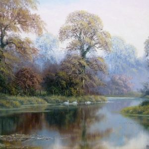 """X (SOLD) """"Swan Lake"""""""