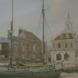 X (SOLD) The Custom House, Kings Lynn 1991