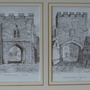X (SOLD) Norwich Gates – Magdalen Gate (inside and out)