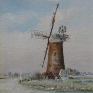 X (SOLD) Derelict Pump Windmill