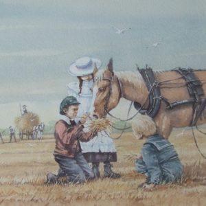 Feeding the Horse 1996