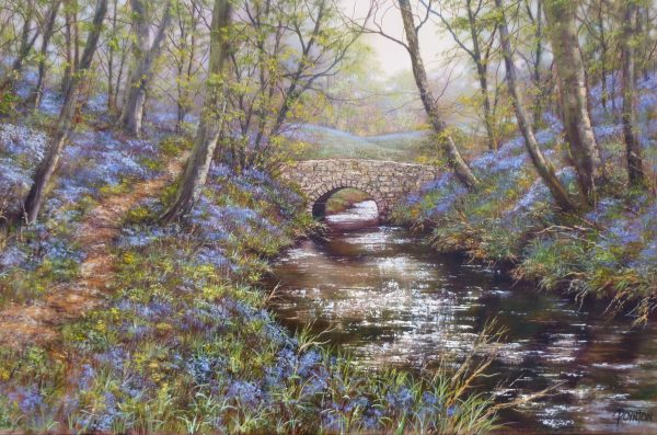 X (SOLD) The Old Bridge – Bluebell Woods