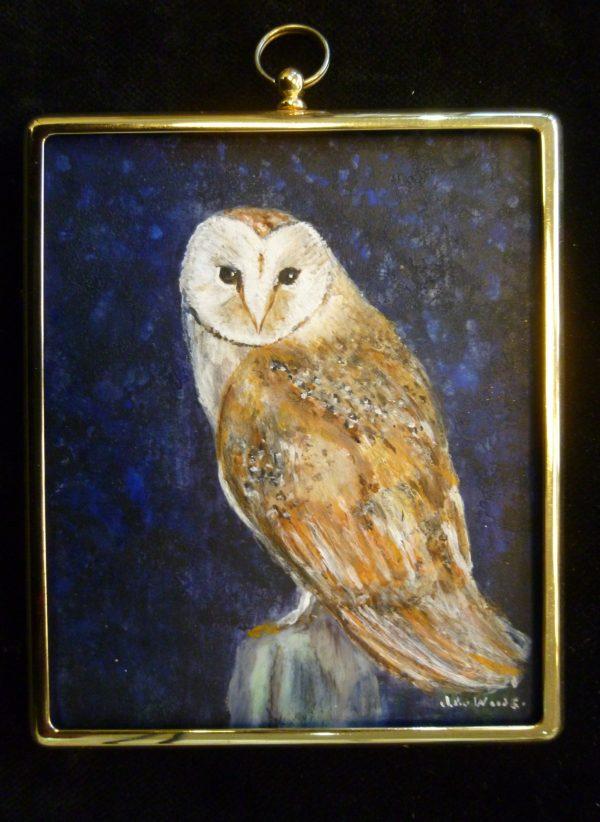 Miniature – Barn Owl