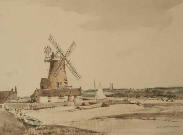 X (SOLD) Cley Mill, Norfolk 1966