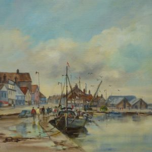 X (SOLD) The Quay, Wells-Next-The Sea, 1977