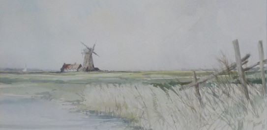 X (SOLD) Six Mile House on the River Bure (1978)
