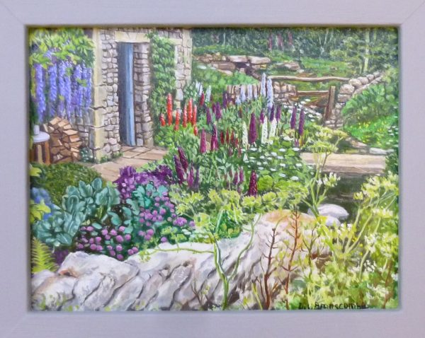 """Limestone Walls"" From Chelsea Flower Show 2018"