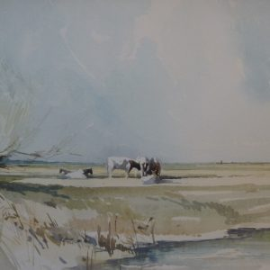 X (SOLD) May on the Marshes 1974