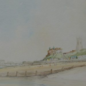 Cromer – A view of Cromer North Beach 1976
