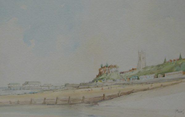 Cromer – A view of Cromer North Beach 1976