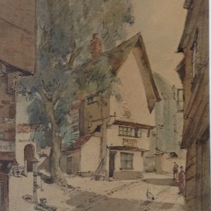 X (SOLD) Elm Hill, Norwich (early work)