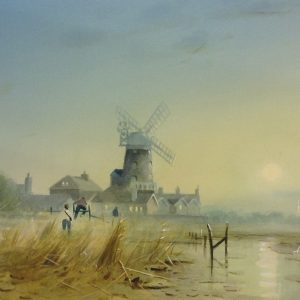 X (SOLD) Late Return, Cley Mill 1990